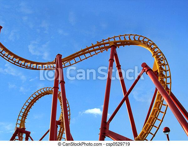Roller Coaster - csp0529719
