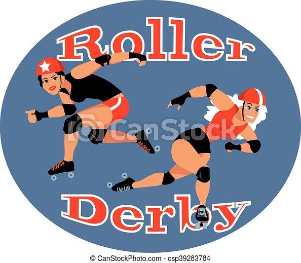 Roller derby - csp39283784