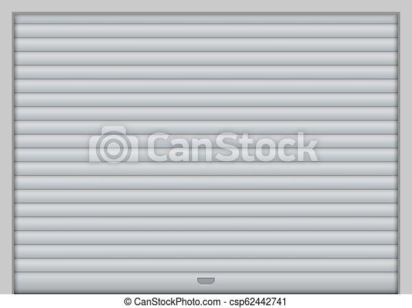 Roller Garage Door Vector Illustration For Your Design Canstock