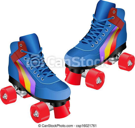 roller skates clip art vector search drawings and graphics images rh canstockphoto com roller skate clip art free roller skates clipart images