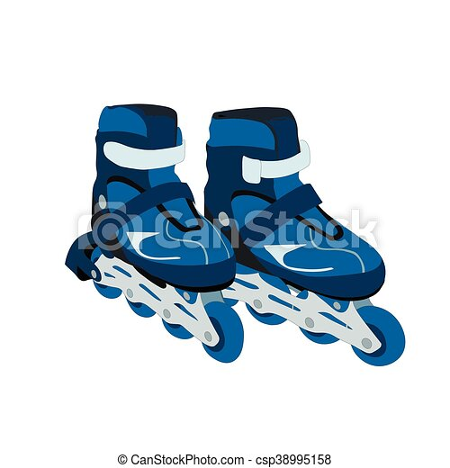 Roller skates - csp38995158