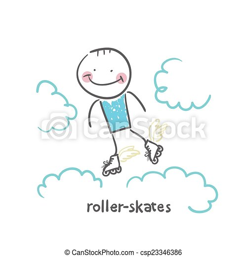 roller-skates - csp23346386