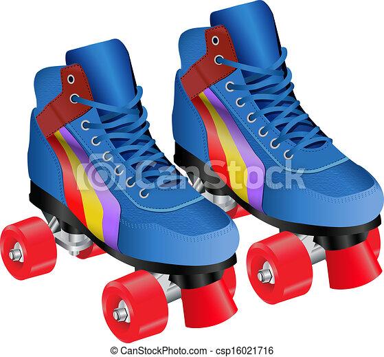 roller skates rh canstockphoto com roller derby skates clipart roller skating clipart free