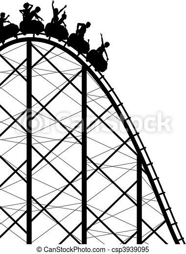 rollercoaster - csp3939095