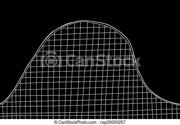 Rollercoaster on Black - csp20000257