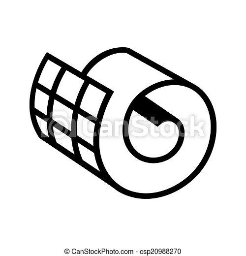 Netting roll icono - csp20988270