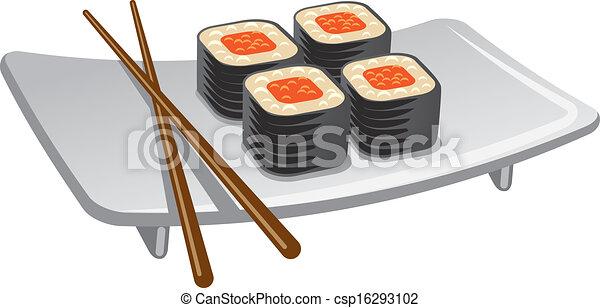 Redoble de sushi - csp16293102