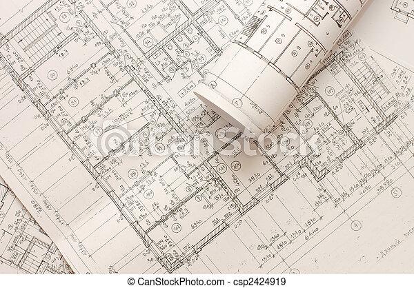 Rolls of Engineering Drawings - csp2424919