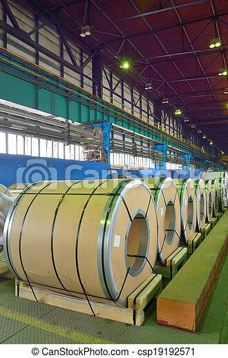 rolls of steel sheet  - csp19192571