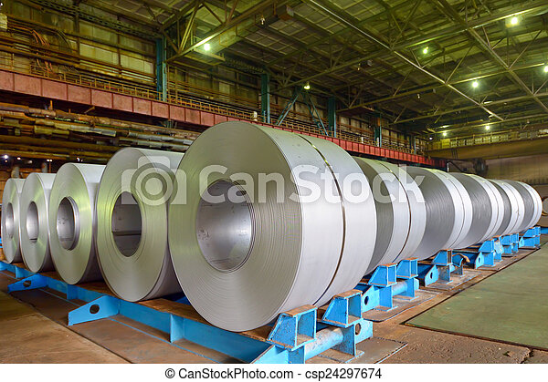 rolls of steel sheet - csp24297674