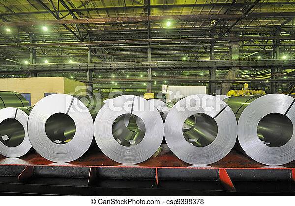 rolls of steel sheet - csp9398378
