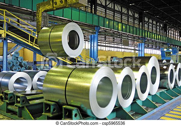 rolls of steel sheet  - csp5965536