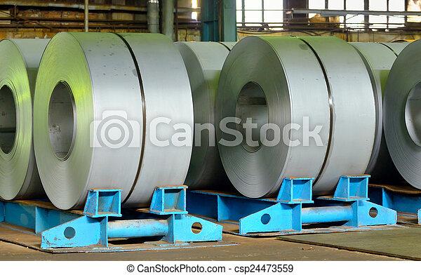rolls of steel sheet - csp24473559