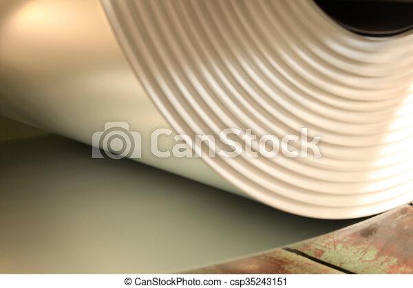 Rolls of steel sheet - csp35243151
