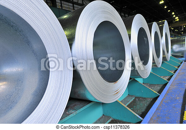 rolls of steel sheet - csp11378326