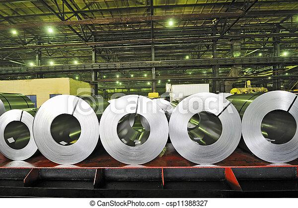 rolls of steel sheet - csp11388327