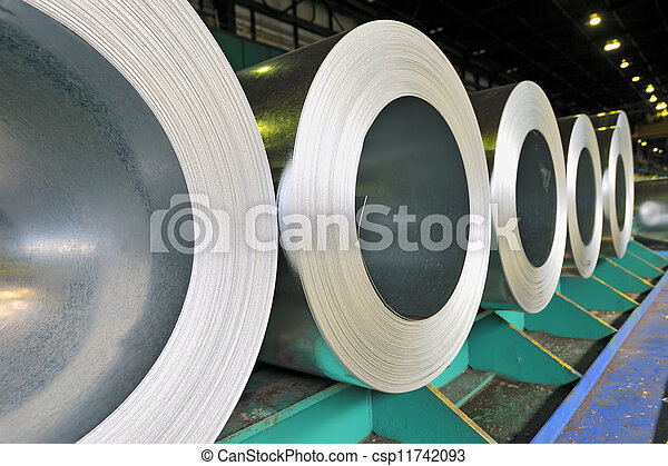 rolls of steel sheet - csp11742093
