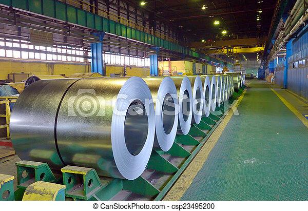 Rolls of steel sheet - csp23495200