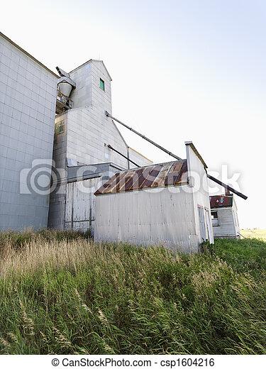 rolniczy, budowa. - csp1604216