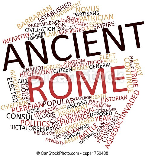 Roma Antigua Antiguo Palabra Etiquetas Resumen Relacionado