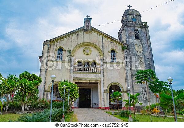Roman Catholic Church in Philippines - csp37521945
