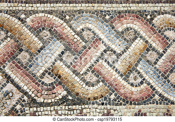 Roman mosaic - csp19793115