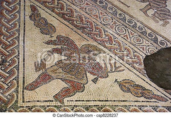 Roman mosaic - csp8228237