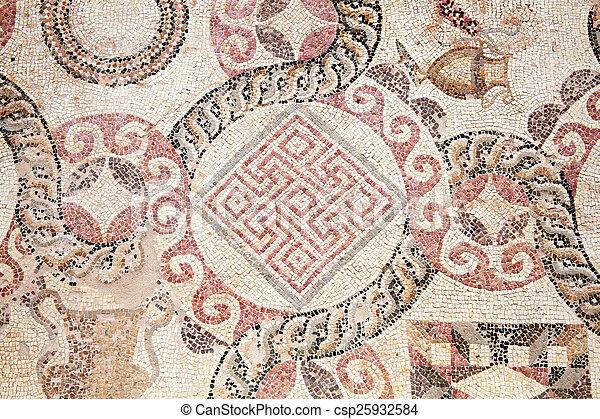 Roman Mosaic - csp25932584