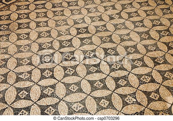 Roman mosaic - csp0703296