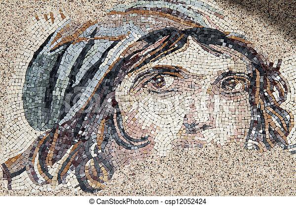 Roman mosaic - csp12052424