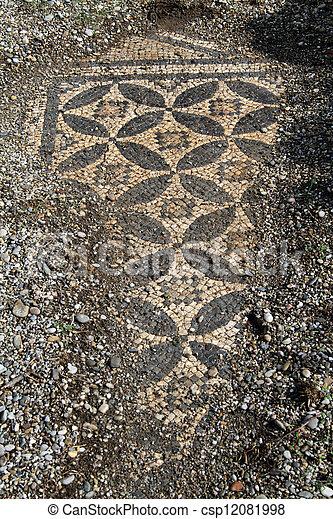 Roman mosaic - csp12081998