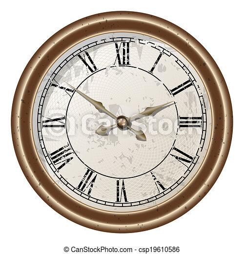 Roman numerals - csp19610586