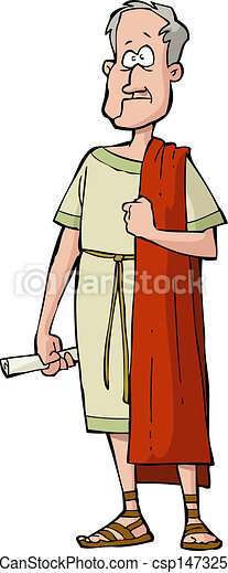 Roman senator - csp14732570