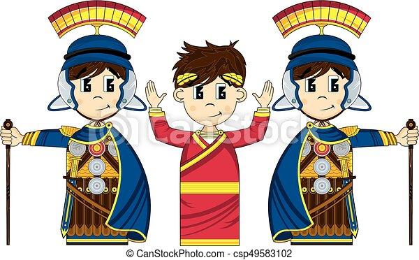 Roman Emperor Clipart