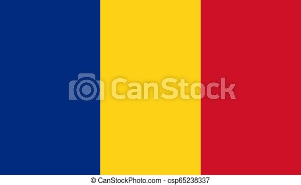 Romania Flag - csp65238337