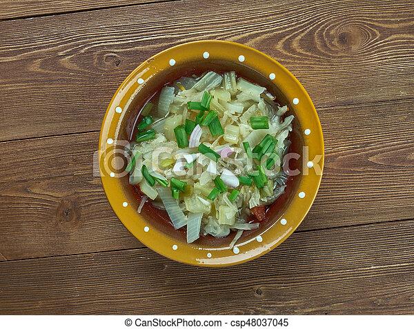 Romanian onion soup - csp48037045