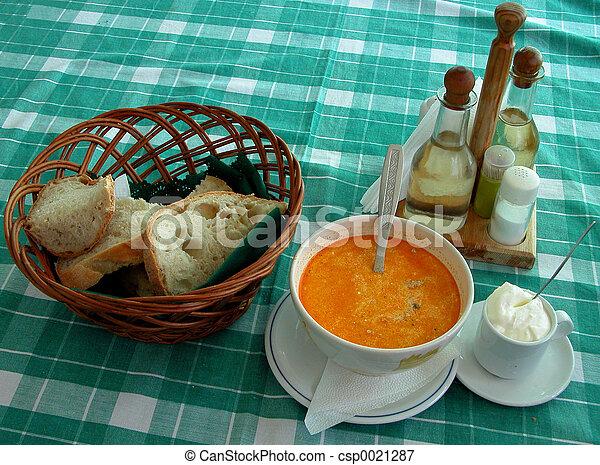 Romanian restaurant - csp0021287