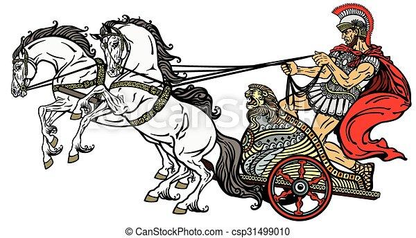 romano-carruaje-clip-art-vectorial_csp31