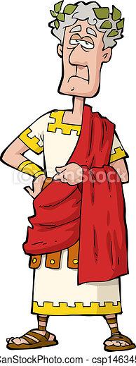 El emperador romano - csp14634555
