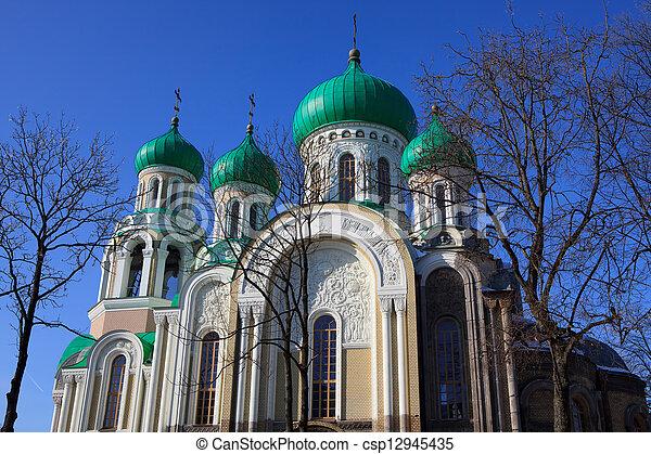 Romanov's Church in Vilnius - csp12945435