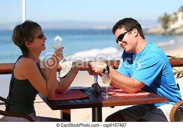 Romantic couple - csp0157497