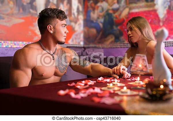 Romantic Couple Relaxing Together At Spa