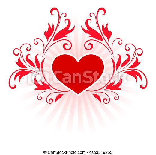 Romantic Hearts Valentine S Day Design Background