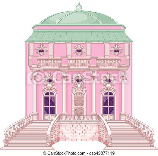 Romantic Palace for a Princess - csp43877119
