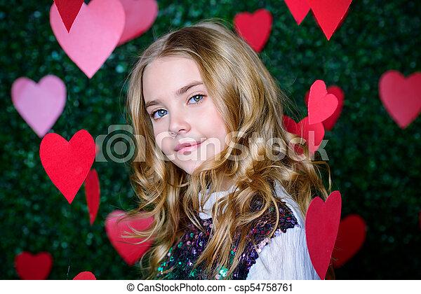 girl Romantic teen