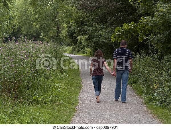 Romantic walk - csp0097901