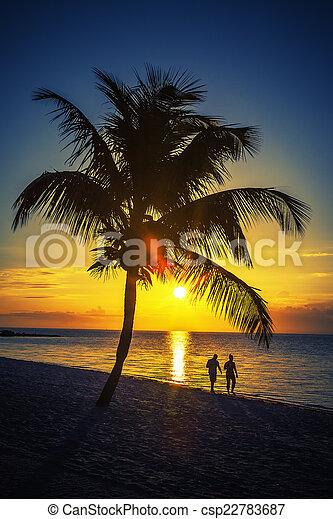 Romantic walk - csp22783687
