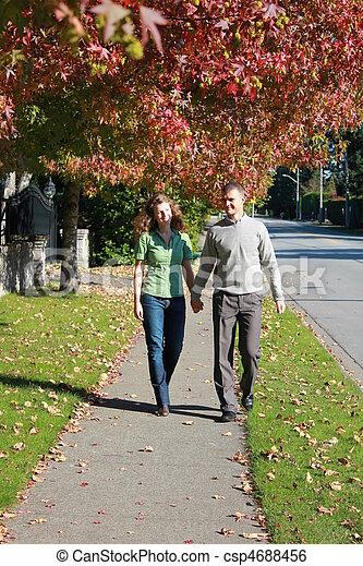 Romantic walk - csp4688456