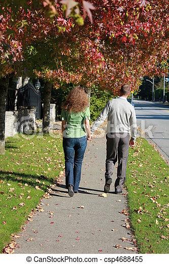 Romantic walk - csp4688455