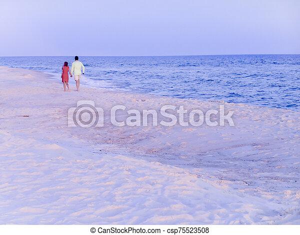 Romantic walk - csp75523508